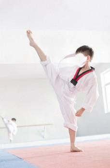 跆拳道少年