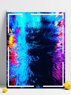 RGB颜色炫酷广告背景