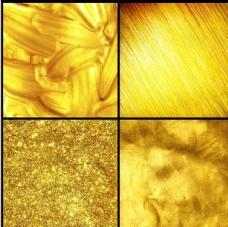铂金底纹 动感金色