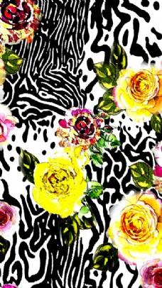 豹纹 碎花