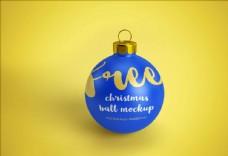 圣诞节金球