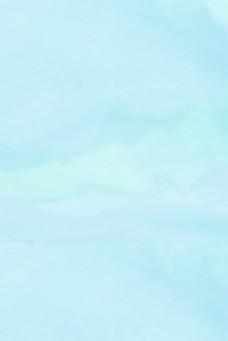 简约水彩蓝色纯色背景底纹电商淘宝背景H5