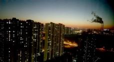 工业城市夜景