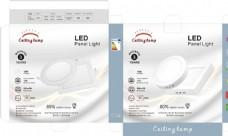 LED 天花面灯彩盒