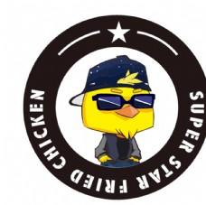 巨咖炸鸡logo