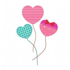 情人节心形气球装饰