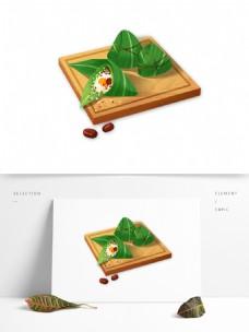 简约粽子元素设计