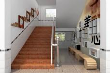 楼梯间书吧(国学文化)