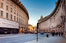 英国伦敦街头城市风光