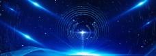 蓝色科技年会公司盛典背景