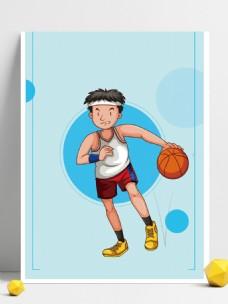 篮球特训营体育运动招生背景
