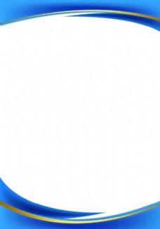 蓝色商务AI背景