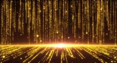 金色流光视频背景