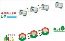 校园  中国梦 文化墙