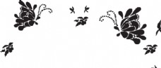 硅藻泥墻貼花紋