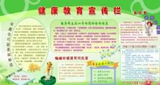 世界卫生日 健康教育宣传栏