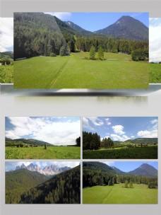 天然风景延时摄影航拍