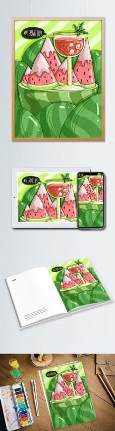 小清新水果之西瓜
