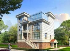 欧式别墅外观设计