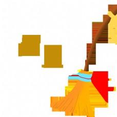 中国春节习俗扫尘