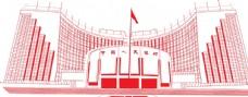 中国银行大楼线描
