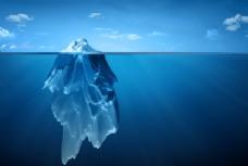海洋冰山分层图