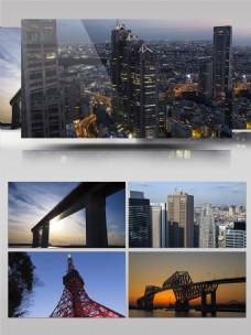 4K唯美东京城市延时摄影