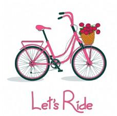 花篮自行车