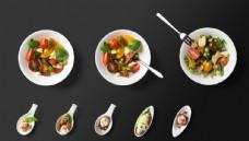 PSD蔬菜沙拉