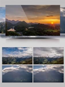 4K唯美大自然风景延时摄影