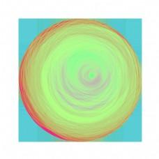 抽象艺术魔幻圈圈球体