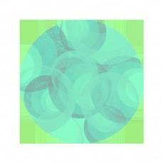 抽象对比色艺术旋转球