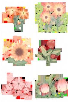 双层花蕊可爱朵朵合集