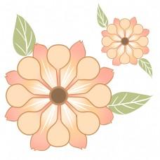 白色花蕊可爱朵朵