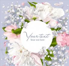 婚庆花卉卡片