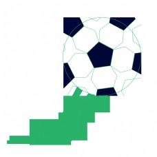 足球射门比赛免抠图