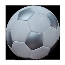 灰色的足球免抠图