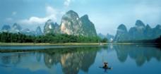 美丽的桂林山水景色