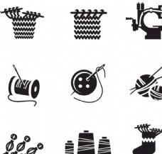 手繪縫針手工針線工具