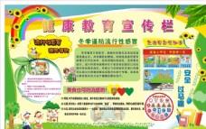 幼儿园宣传栏含曲线与未曲线版