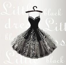 黑色晚礼服