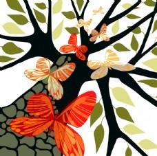 精美树木插画