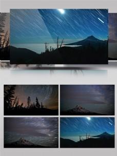 4K日月星辰延时摄影