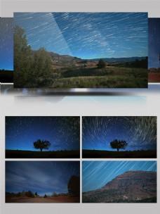 4K星空下的延时摄影