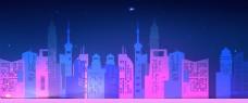 城市风景高楼大厦