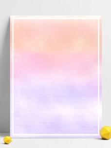 原创手绘清新淡雅糖果色水彩晕染背景素材