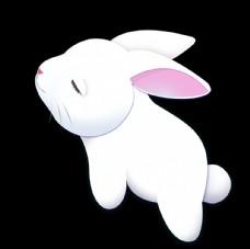 卡通兔子素材
