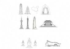 国内各大城市标志建筑
