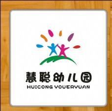 幼儿园标识标志矢量班徽校徽设计