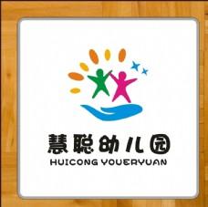 幼儿园班徽校徽标识标志设计